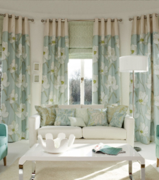 Inspirational Range of Bespoke Soft Furnishings, Curtains, Blinds & Pelmets at www.applewoodinteriors.com